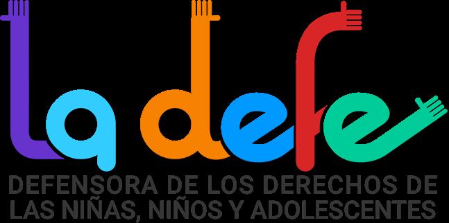 Logo de la Defensora de los derechos de las niñas, niños y adeolscentes